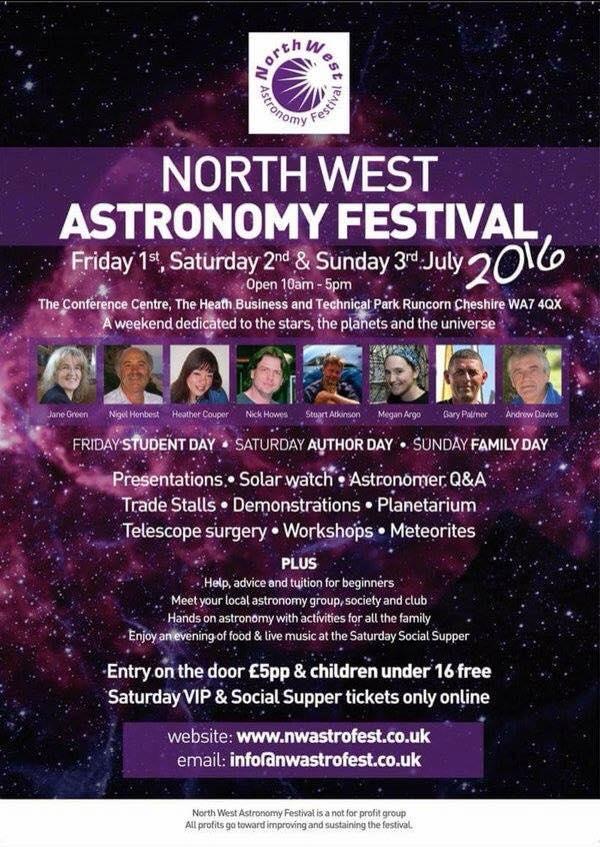 Northwest Astronomy Festival for great deals on Telescopes and Astro Accessories