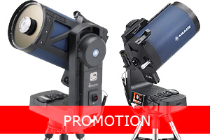 Meade Telescope UK promotion including ETX, LX200, LX90