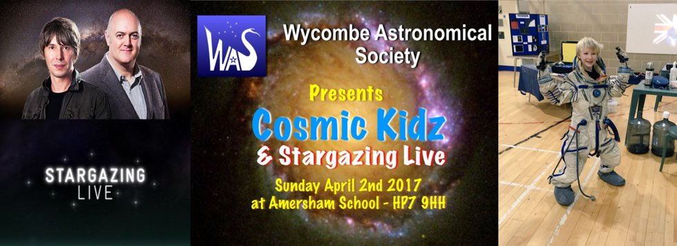 Stargazing Live 2017 with Tring Astronomy Centre
