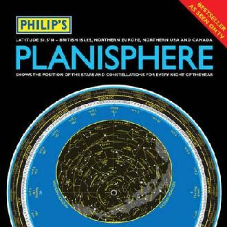 Philips Planisphere Latitude 51.5 North