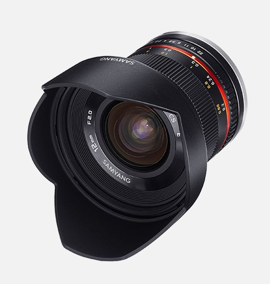 Samyang 12mm F2.0 NCS CS FUJI X black