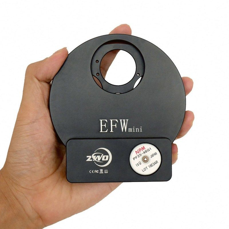 ZWO EFW mini 5-position Filter Wheel for 1 25
